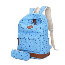 Samaz Casual Lightweight Canvas Backpacks Cute Giraffe Bookbag Shoulder Bag - $29.99