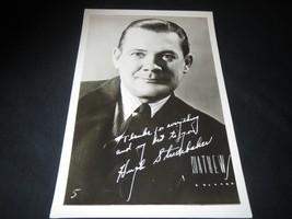 Hugh Studebaker, Radio, Promo Photograph Vintage, autopen autograph RARE... - $6.93