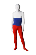 Full Body Russian Flag Lycra Spandex Zentai Suit Halloween Unitard - $39.99