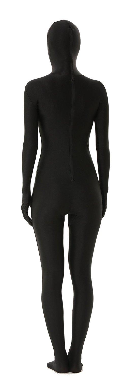 Unisex Full Body Lycra Spandex Skin Tight Bodysuit Zentai ...