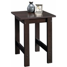 End Table Wood Square Coffee Side Sofa Living Room Entry Home Decor - $32.89