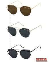 2016 NEW Women Cat Eye Sunglasses Classic Brand Designer Sunglasses Semi... - $9.95
