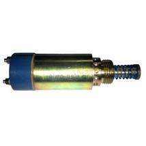 Fuel Flameout Stop Solenoid Valve 125-5772 1255772 for Excavator SINOCMP Parts - $130.54