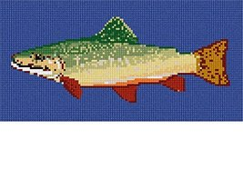 Rainbow Trout Needlepoint Kit - $74.25