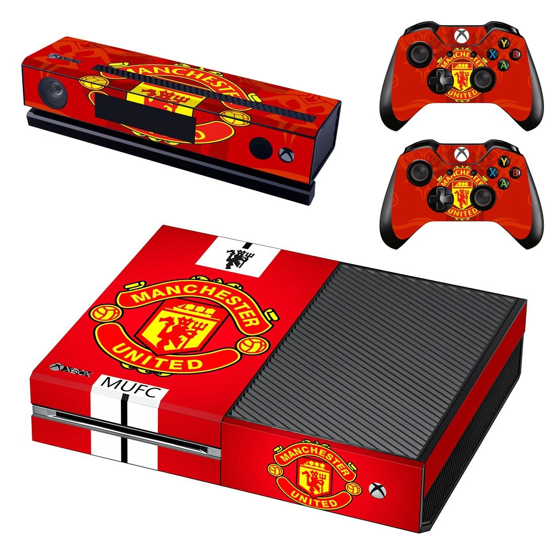 Manchester United Skin For Xbox One Decal Sticker Console