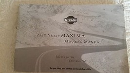 1998 Nissan Maxima Owners Manual by Nissan - $9.89