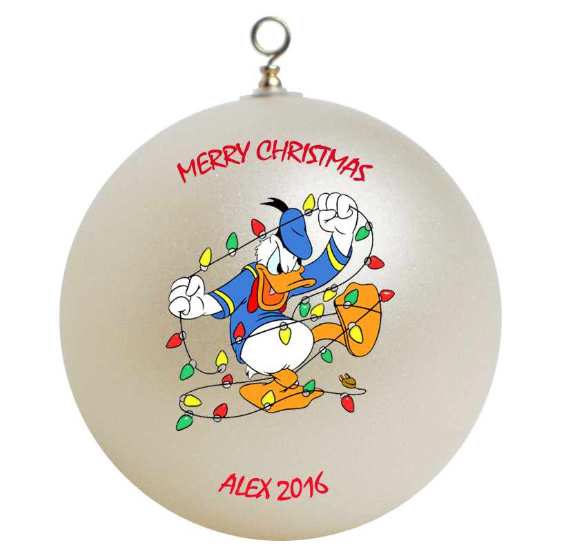 Donald duck christmas