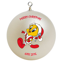 Personalized Tweety Christmas Ornament Gift - $24.95