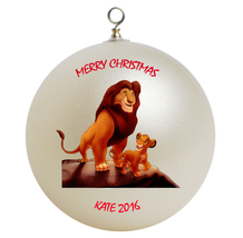 Personalized Lion King Christmas Ornament Gift - $24.95