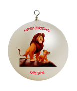 Personalized Lion King Christmas Ornament Gift - $16.95