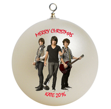 Personalized Jonas Brothers Christmas Ornament Gift #2 - $16.95