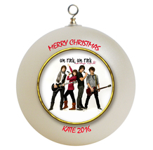 Personalized Camp Rock Christmas Ornament Gift - $16.95