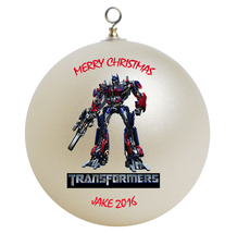 Personalized Transformers Optimus Prime Christmas Ornament Gift - $24.95