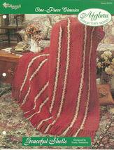 Needlecraft Shop Crochet Pattern 962350 Graceful Shells Afghan Collector... - $4.99