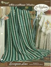Needlecraft Shop Crochet Pattern 962350 Evergreen Lace Afghan Collectors... - $4.99