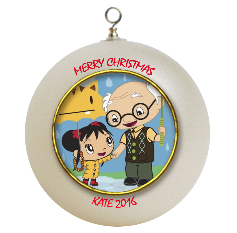 Personalized Ni Hao Kai-Lan Christmas Ornament Gift