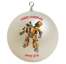 Personalized Transformers Bumblebee Christmas Ornament Gift - $16.95