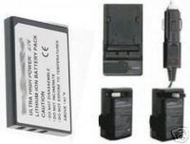 VW-VBA10 VWVBA10 VW-VBA21 Battery +Charger For Panasonic - $23.88