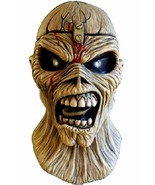 Trick Or Treat Iron Maiden Eddie Piece of Mind Rock Adult Halloween Mask... - £51.97 GBP