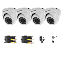4xAHD 960P 1.3MP 3500TVL Night Vision Outdoor Dome LED Home CCTV Securit... - $133.38