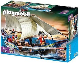 Playmobil 5140 Redcoat Battle Ship - $71.27