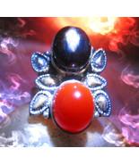 Haunted ring TWO SISTERS FEMALE DJINN Genie POT... - $377.77