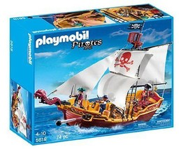 Playmobil 5618 Red Serpent Pirate Ship  - $66.33