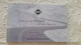 1998 Nissan Altima Owners Manual by Nissan Motor Co. - $14.84