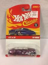 Hot Wheels Classic Series 2  #22 Purple '49 Merc - $4.94
