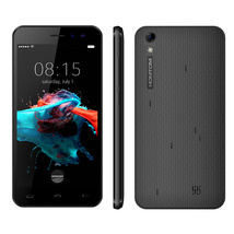 """homtom ht16 black 1.3ghz quad core 5.0"""" hd screen android 6.0 3g smartphone - $89.99"""
