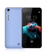"homtom ht16 blue 1.3ghz quad core 5.0"" hd screen android 6.0 3g smartphone - $89.99"