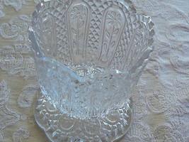 Lovely Vintage Avon Collectors Fostoria Crystal Glass Pedestal Candle Ho... - $12.86