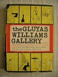 1957 Gluyas Williams Gallery illustrated [1ST] DJ