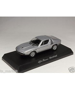 KYOSHO DIECAST CAR ALFA ROMEO COLLECTION 4 MONTREAL SILVER 1/64 JAPAN - $8.49
