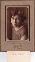 Sylvia Langman Cabinet Photo - Rockland / Thomaston, Maine - $17.50