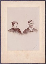 Levi Leno & Jennie Adell Groves Leno Cabinet Photo - Middlebury, VT - $17.50