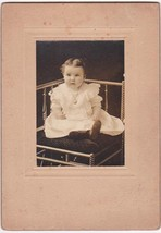 Violet Ruth Williams Antique Cabinet Photo (1907) - $17.50