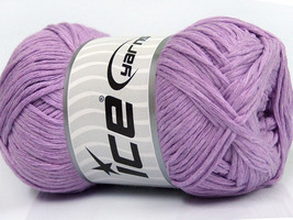 4 Pack Ice Yarn Lavender DK Worsted Natural Cot... - $27.77 CAD
