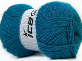 4 Pack Blue Worsted Alpaca & Dralon Microfiber ... - $30.41 CAD