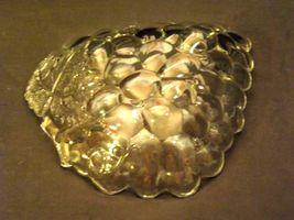 Concord Grape triangular Glass Candy Dish AA19-LD11934 Vintage image 3