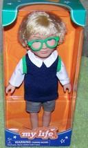 "My Life As Mini School Boy 7.5""H Small Blonde Doll New - $15.50"