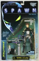 1997 JESSICA PRIEST Spawn Action Figure With Water Gun & Missile Launcher - $17.95
