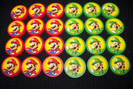 Mario Brothers Checkers, checkers only no board - $14.33