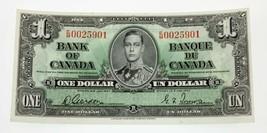 1937 Banco de Canadá Nota que No Ha Circulado Estado Recoger #58 - $109.09