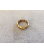 Used Lord Of The Rings Ring Of Power One Ring Replica Gold Toned Elvish ... - $60.38