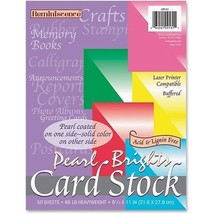Pacon Reminiscence Card Stock 65 Lbs Letter Ass... - $13.99