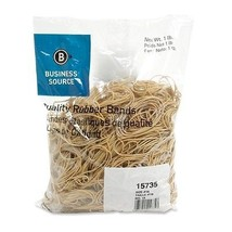 Business Source Quality Rubber Band - $10.98