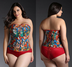 a61d00485a New Torrid Womens Plus Size 4 X Cosplay Dc Superhero Corset Bustier Wonder  Woman -  48.27