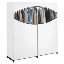 Heavy Duty Portable Closet Clothes Garment Stor... - $62.58