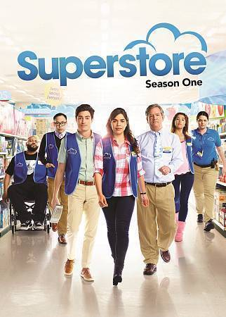 Superstore first season one 1 dvd  2016  2 disc  nbc comedy new sealed free ship